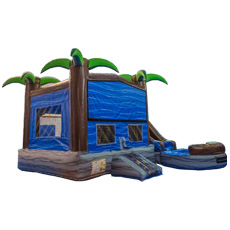 5 in 1 Tropical Water Slide Combo