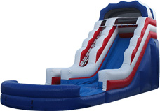 All American Single Lane Water Slide