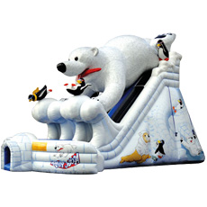 Artic Polar Bear Dual Lane Slide